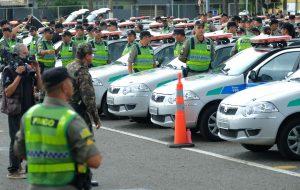 Operação da Polícia Militar e Bombeiros coloca mais de 2.500 PMs nas ruas de Goiás