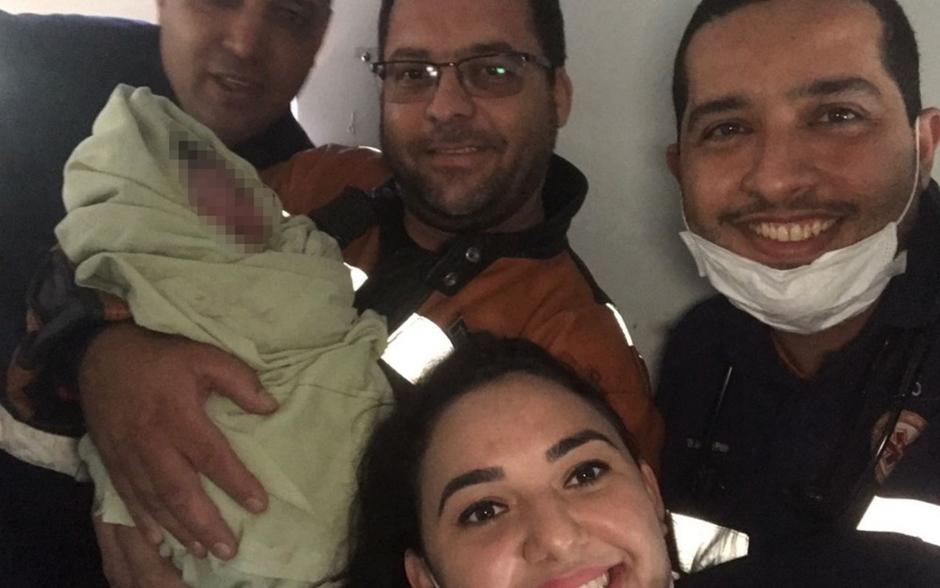 Bebê encontrado dentro de mala em Aparecida de Goiânia recebe alta do HMI