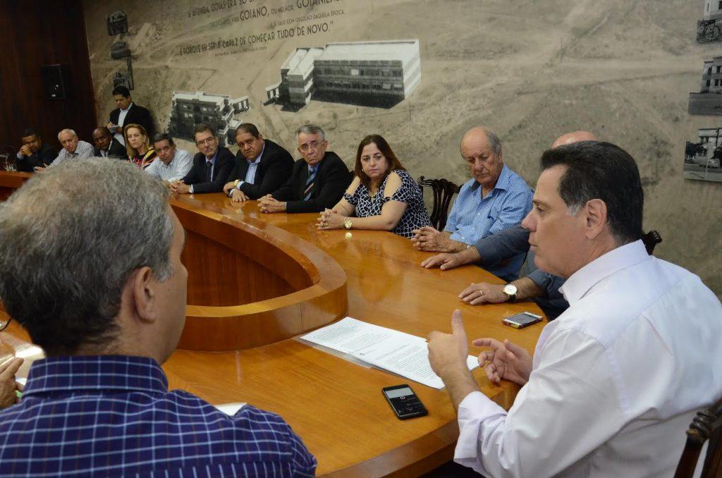 Marconi diz que Odebrecht não tem obra licitada nem realizada com recursos do Governo de Goiás