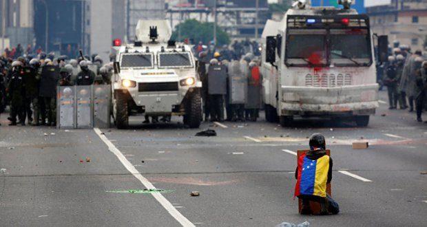 Oposição venezuelana contabiliza 257 feridos após protesto em Caracas