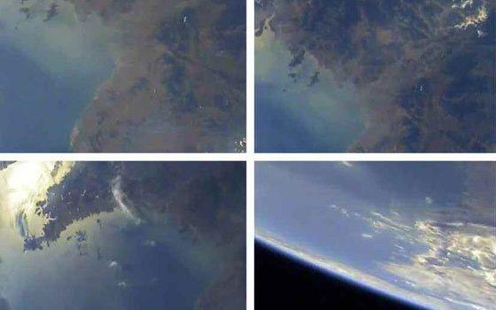 Coreia do Norte mostra fotos da Terra tiradas de seu último míssil