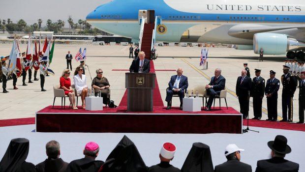 Precisamos enfrentar ameaça do regime do Irã na região, diz Trump em Israel