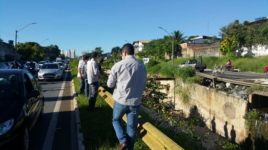 Reparos na Marginal Botafogo devem começar apenas em junho