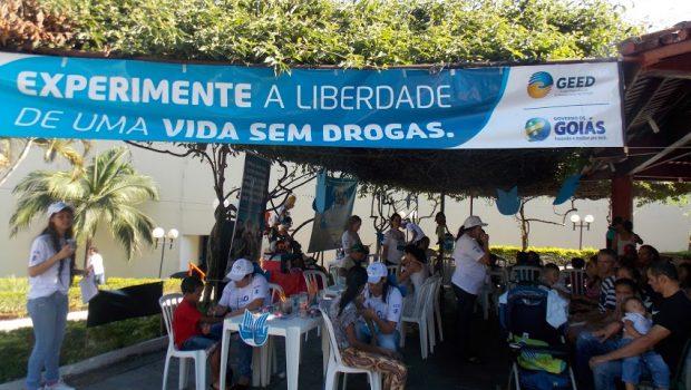 Em Goiás, o Geed capacita profissionais e informa a população sobre o enfrentamento às drogas