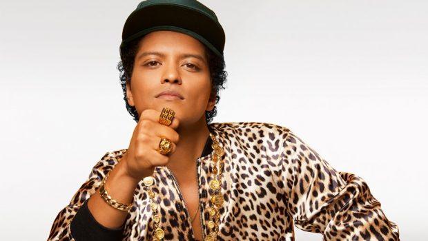 Bruno Mars é o cantor com mais singles no topo da Billboard nesta década