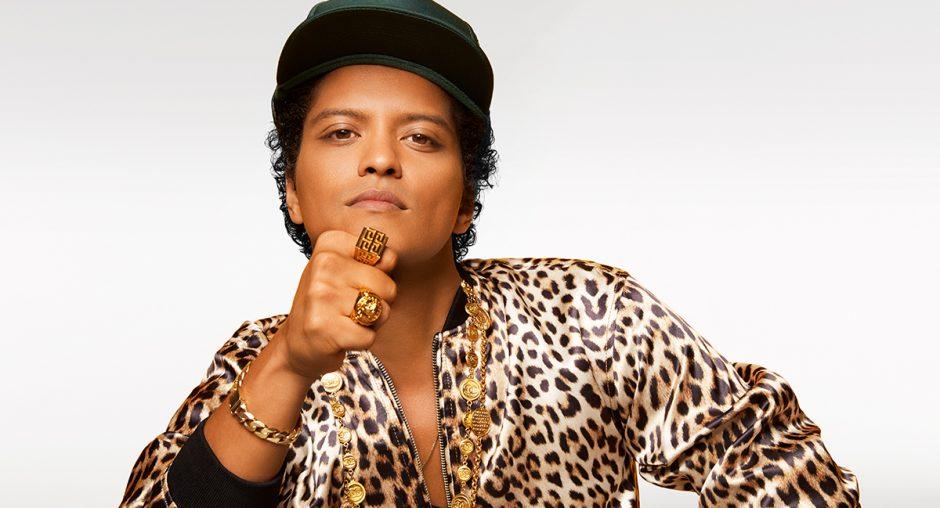 Bruno Mars vai fazer dois shows no Brasil