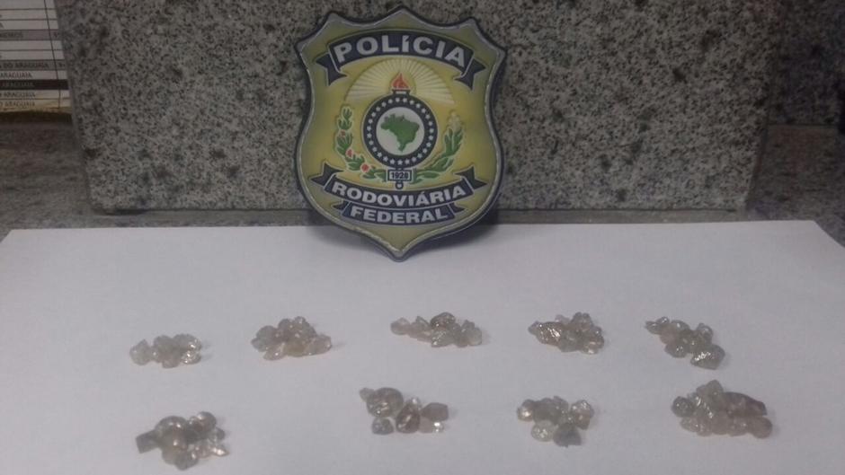 PRF apreende carga de diamantes avaliada em cerca de R$ 900 mil