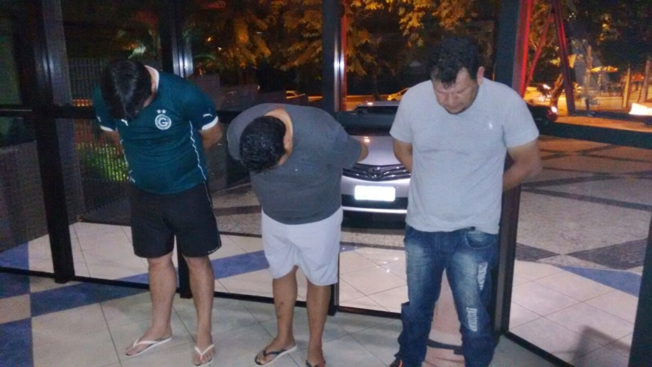 PM prende trio que realizava saques irregulares de FGTS em Goiânia