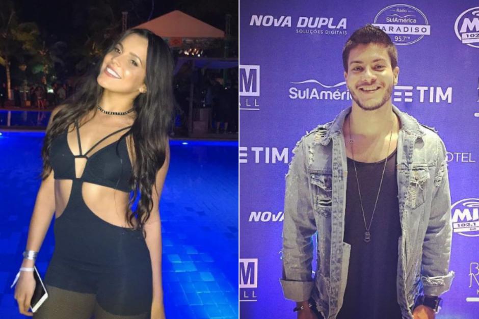 Emilly Araújo e Arthur Aguiar teriam se beijado durante festa em Mangaratiba