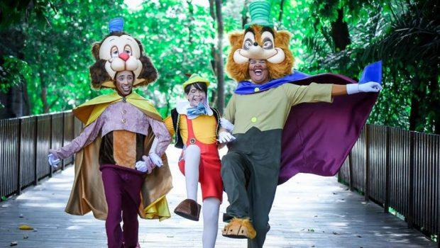 Teatro Goiânia recebe peça infantil As Aventuras de Pinóquio