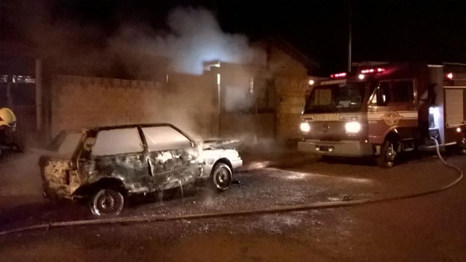 Detentos podem ter ordenado incêndio de veículos em Jataí