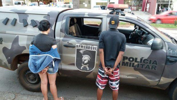 Casal é preso com motocicleta roubada, em Goiânia