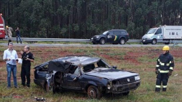 Mulher morre acidente na GO-020, em Senador Canedo