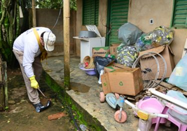 Prefeitura de Aparecida intensifica ações de combate ao Aedes aegypti no Buriti Sereno