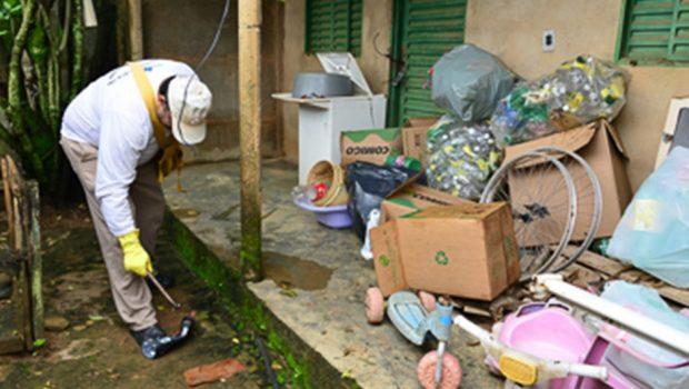 Em Aparecida de Goiânia, 165 mil domicílios foram inspecionados em ações de combate ao Aedes aegypti no mês de abril