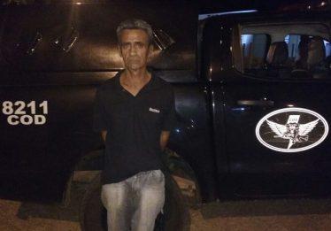 Homem com extensa ficha criminal é preso em Campo Alegre