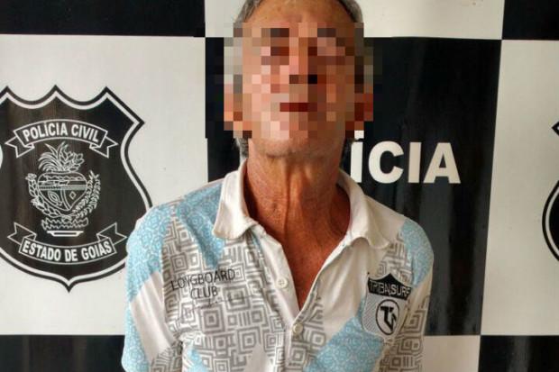 Idoso é preso em Inhumas suspeito de abusar sexualmente de três crianças