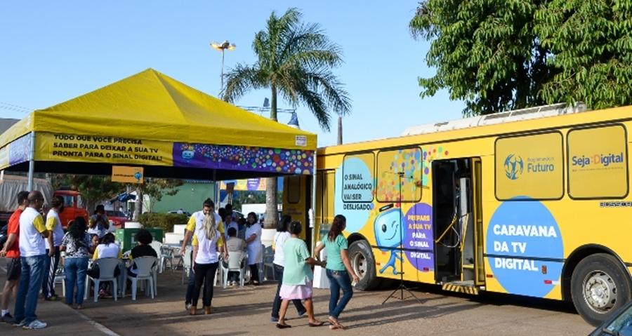 Caravana da TV Digital chega a Trindade, Anápolis e Goiânia neste final de semana