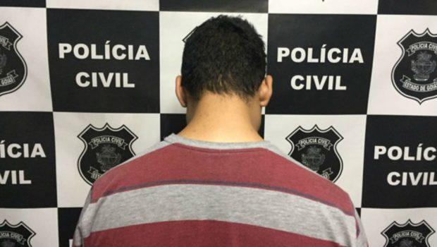 Jovem é detido suspeito de injúria racial em Morrinhos