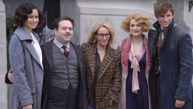 J.K. Rowling confirma que já terminou o roteiro para a continuação de 'Animais Fantásticos'