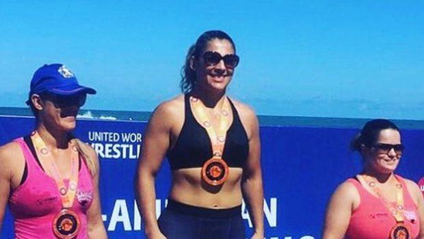 Goiana é campeã Pan-Americana de Beach Wrestling