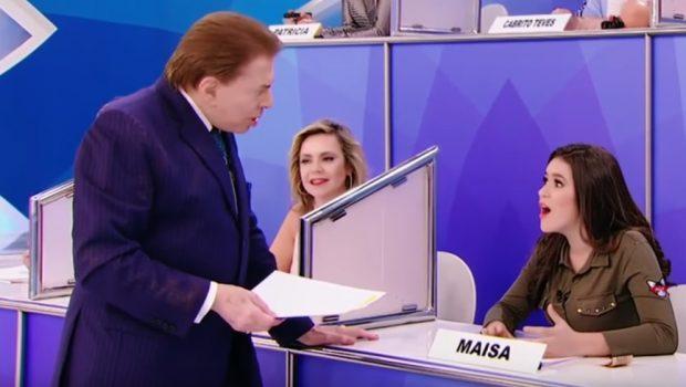 Silvio Santos diz que está assistindo '13 Reasons Why' e surpreende Maísa