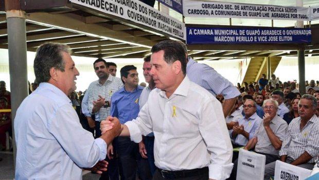 Prefeitura de Guapó é a primeira a assinar convênio com Governo de Goiás
