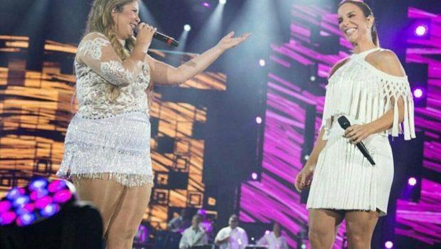 Marília Mendonça teria vetado participação de Ivete Sangalo na 'Festa das Patroas'