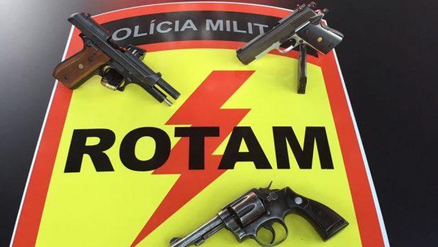 Três são mortos em troca de tiros com a Rotam após explodirem caixas eletrônicos em Goiânia