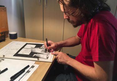 Autor goiano lança HQ pós-apocalíptica Cidade Buraco