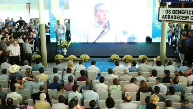 """""""Goiás respira esperança"""", diz José Eliton durante encontro da região metropolitana, em Guapó"""
