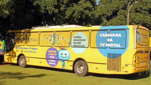 Caravana da Instalação da TV Digital percorre bairros de Goiânia, Aparecida e Anápolis