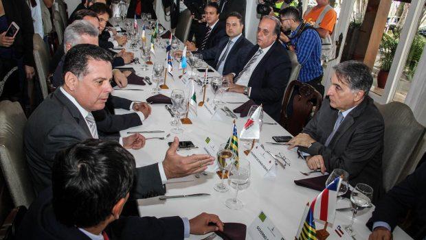 Governadores seguem modelo proposto por Marconi e criam o Fórum de Governadores do Brasil