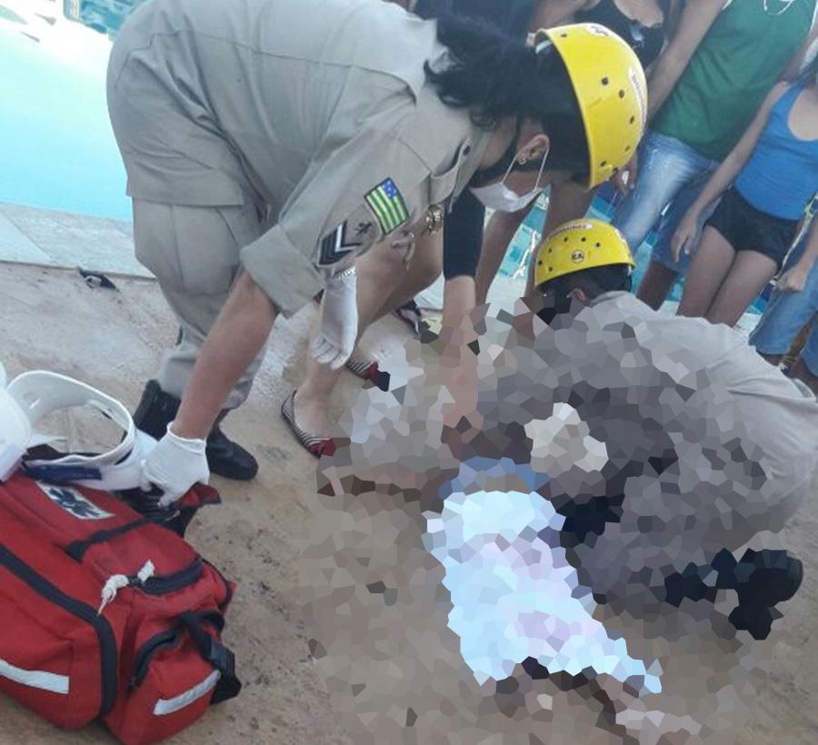 Criança de 5 anos morre afogada em Anápolis