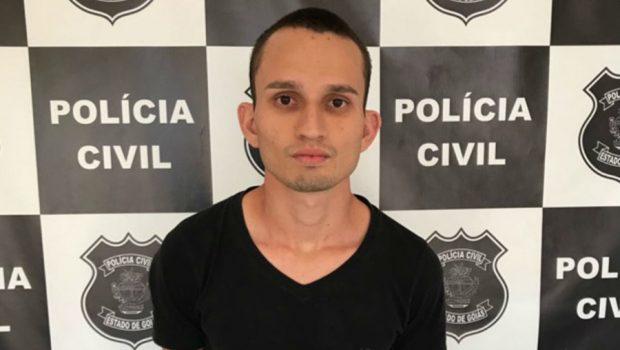 Estudante que matou vítima a golpes de barra de ferro é preso em Morrinhos