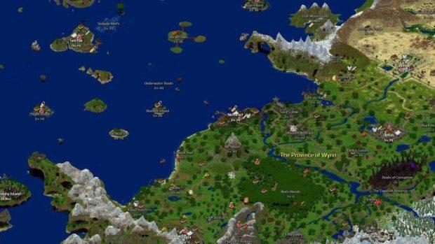 Conheça Wynncraft, um MMORPG completo feito dentro de Minecraft