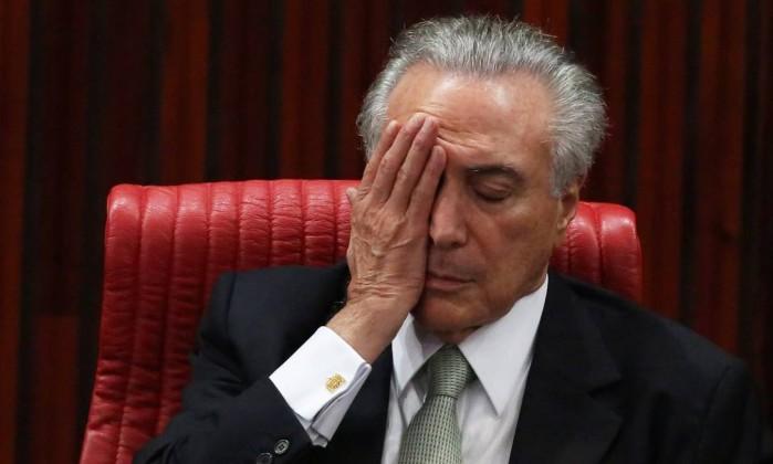 Governo Temer tem aprovação de 5% e reprovação de 71%, diz Datafolha