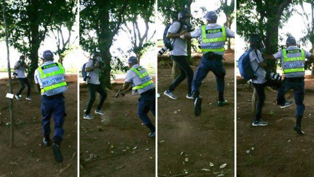 Associações de jornalismo protestam contra agressão de PMs a fotógrafos durante manifestação