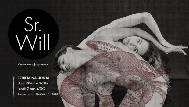 Giro8 Cia de Dança estreia espetáculo Sr. Will