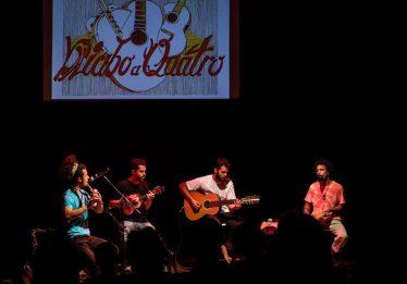 Quarteto instrumental Diabo a Quatro faz show no Complexo Estúdio