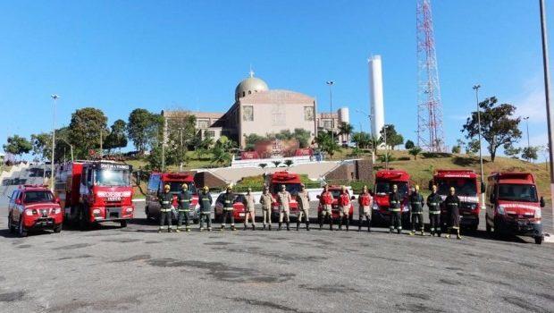 Bombeiros vão prestar serviços de prevenção ostensiva durante a Romaria de Trindade