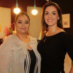 A empresária Liliane Evangelista recebeu a amiga e também empresária Thais Sena na nova Encanti Festas.