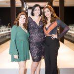 Camila e Nathalia Cardoso, com Gabriela Tannus ao centro