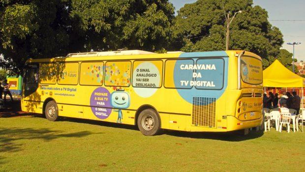 Anápolis recebe mais uma edição da Caravana da Instalação da TV Digital