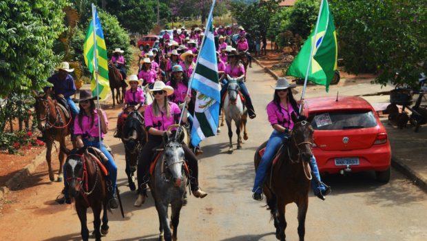 Cavalgada só para mulheres chega à quarta edição em Americano do Brasil