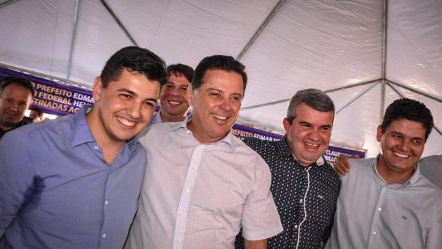 Prefeito de Acreúna assina convênio de R$ 2 milhões com o governo estadual