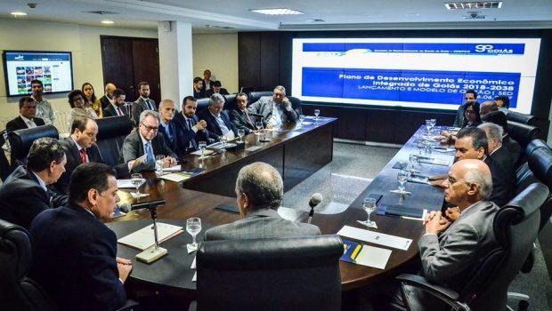 Marconi discute com instituições plano de desenvolvimento integrado para Goiás pelos próximos 20 anos