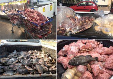 Operação apreende três toneladas de carne clandestina em Luziânia