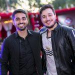Os empresários André Oliveira Souza e Vitor Barros realizaram sábado, 3, a Festa EURO 2017 - Edição Londres, na Estância Euro.