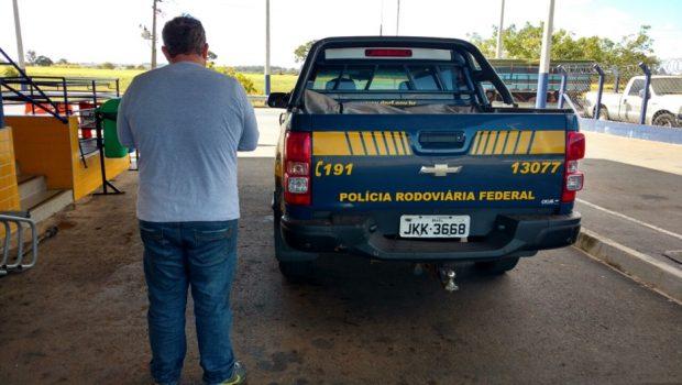 Homem foragido do Paraná é preso pela PRF em Goiás
